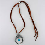 Peyote Bird: Turquoise Naja Necklace
