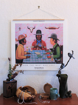 David P. Bradley Poster Print - How the West Was Lost