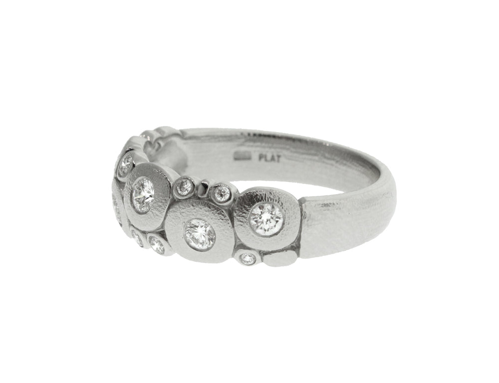 Platinum Diamond Candy Ring