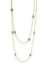 Long Emerald Necklace
