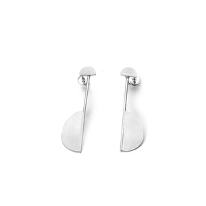 Kelim, Half Moon Geo Earrings