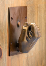 "Mike Dwyer, ""Knock Knock,"" Bronze"