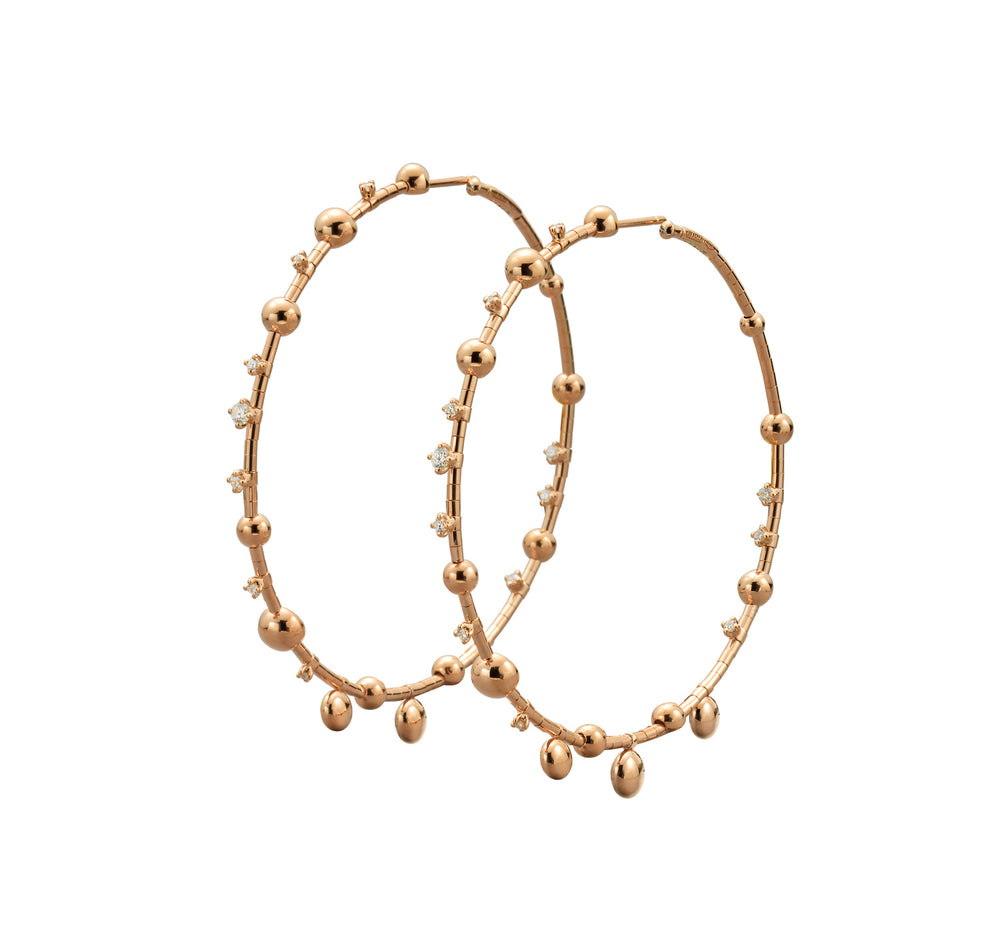 Gocce Hoop Earrings