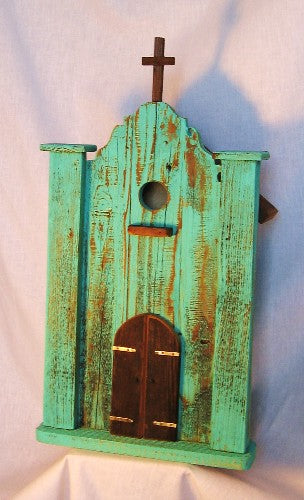 "David Bruce, ""Mission,"" Birdhouse"