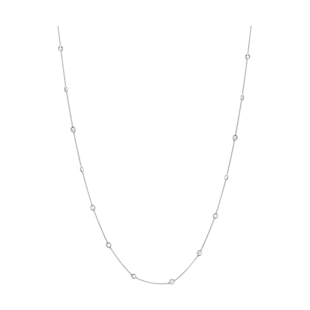 Tresor, Diamond By The Yard Necklace