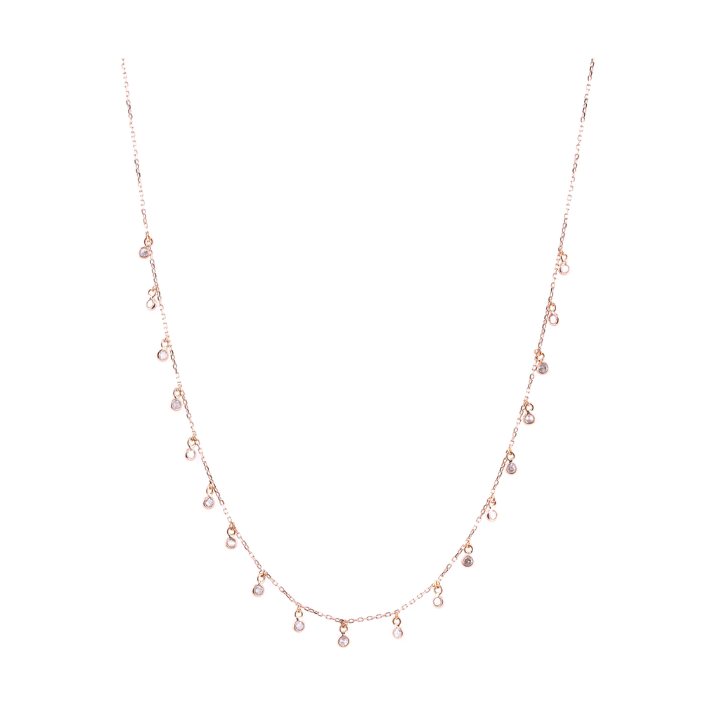 Tresor, Organic Diamond Necklace