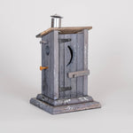"Bud Smoot, ""Out House,"" Birdhouse"