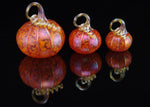 "Corey Silverman, ""Pumpkin Tangelo-Large,"" Blown Glass"