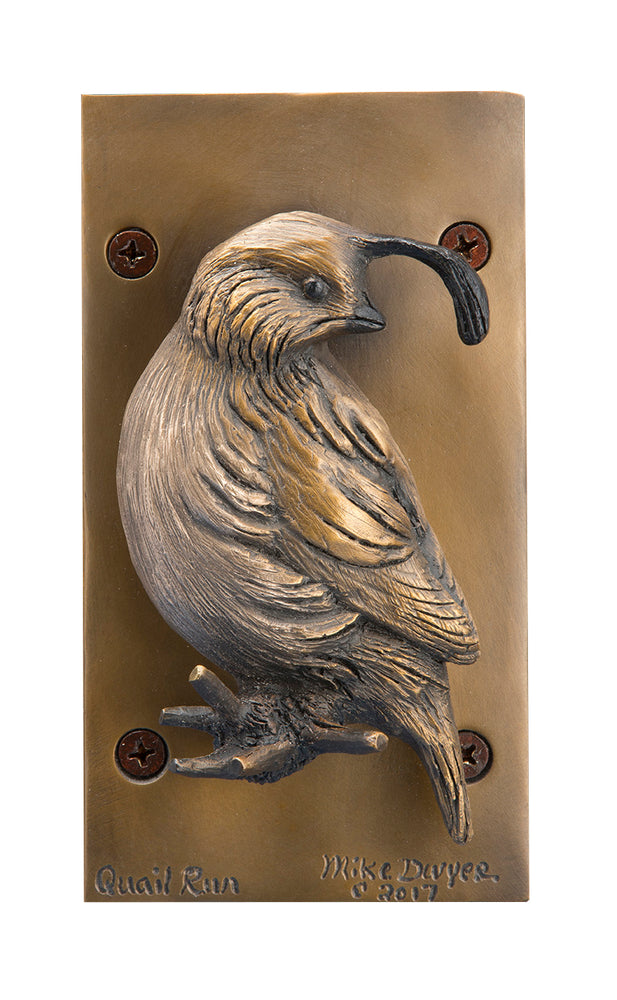 Quail Run Door Knocker