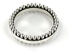 Inda Thick Beaded Ring