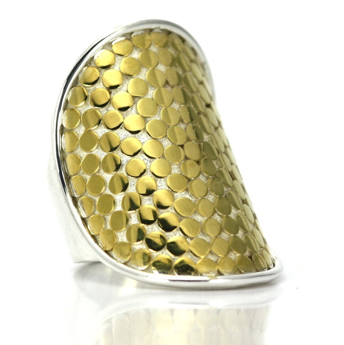 Kala 18K Gold Vermeil Heavy Tapered Ring