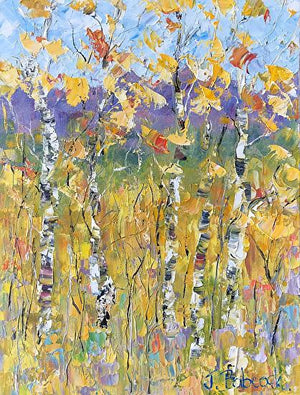 "Judith Babcock, ""Rocky Mountain Gold,"" Oil"