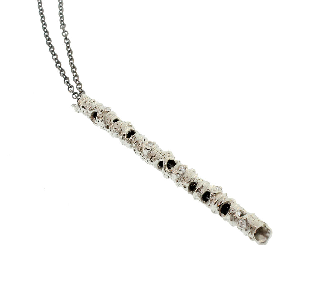 White Gold Aspen Necklace