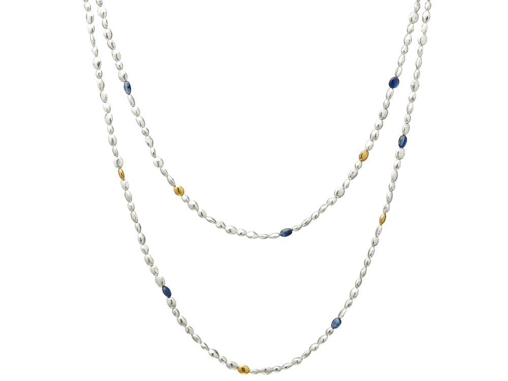 Long Spell Bead Necklace
