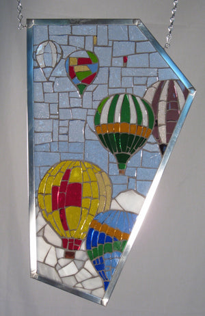 "Bill Simpson, ""Balloon Mosaic,"" Stained Glass"