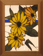 "Bill Simpson, ""Black-Eyed Susan,"" Stained Glass"