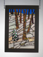 "Bill Simpson, ""Winter Mosaic,"" Stained Glass"