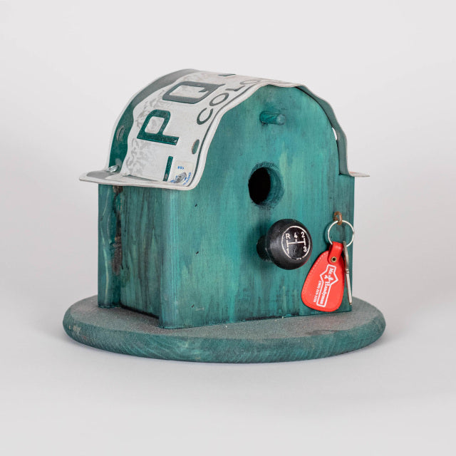 "Bud Smoot, ""The Garage,"" Birdhouse"
