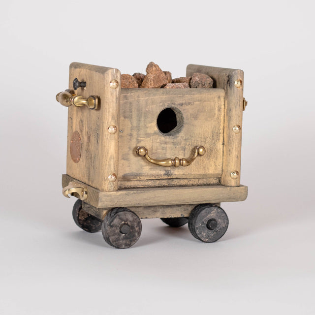 "Bud Smoot, ""Ore Car,"" Birdhouse"