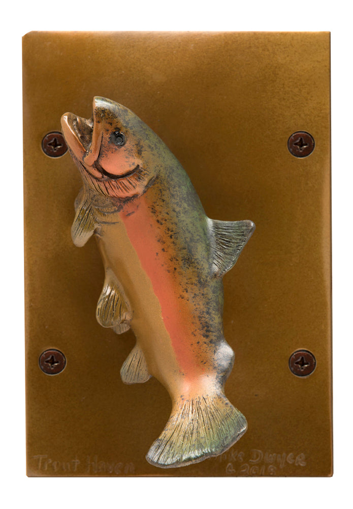 Trout Haven Door Knocker