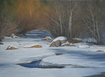 "Chris Hureau, ""Winter Morning,"" Oil"