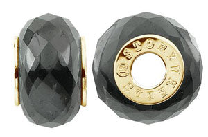 W-434U Faceted Hematite Wheel