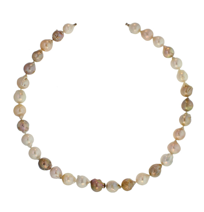 Baroque Freshwater Pearl Long Necklace