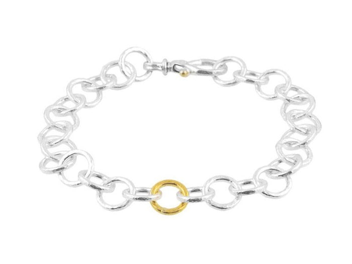 Hoopla Mini Circle Bracelet