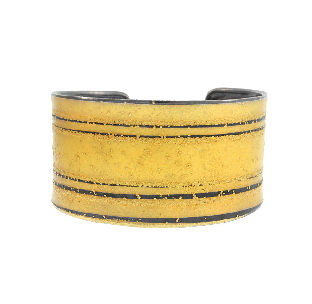 Gold Striped Cuff