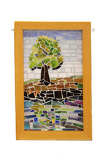 Reflected Tree Mosaic