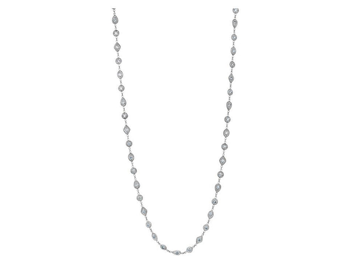 Mixed Element Diamond Necklace