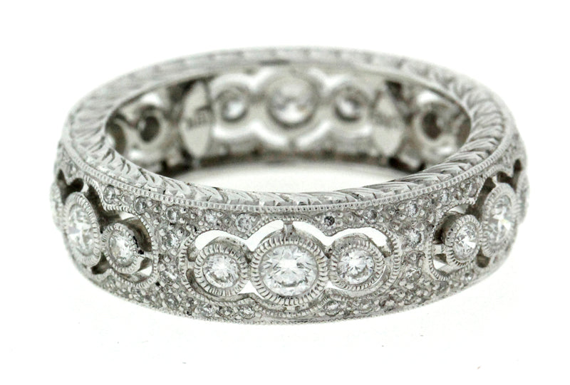 Triple Bubble Diamond Band