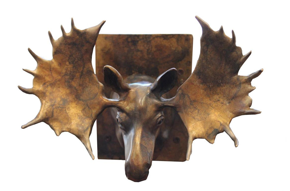 Moose Haven Large Door Knocker