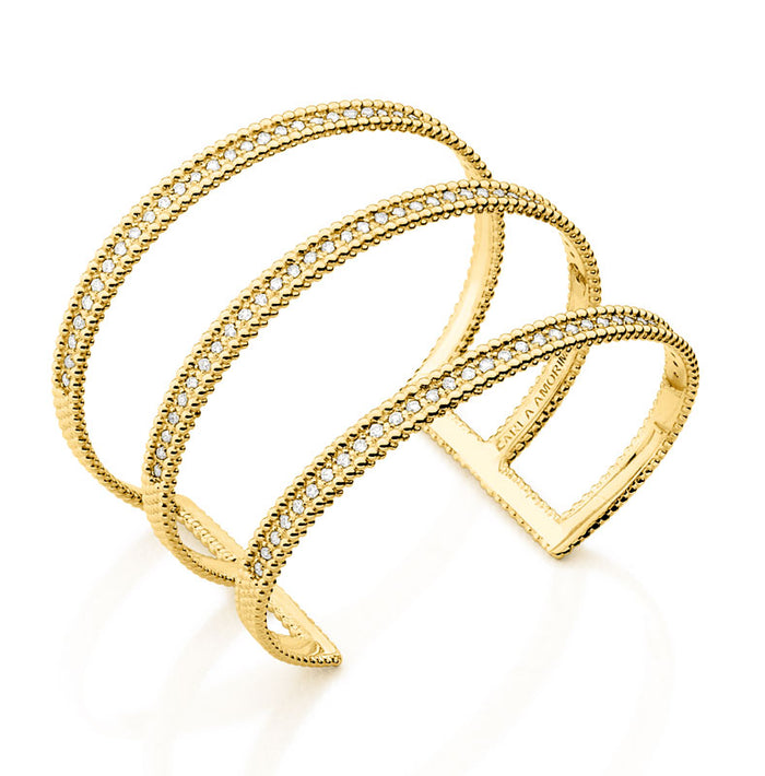 Gold and Diamond Sao Paolo Bracelet