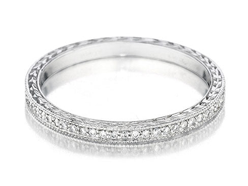 Thin Eternity Diamond Band
