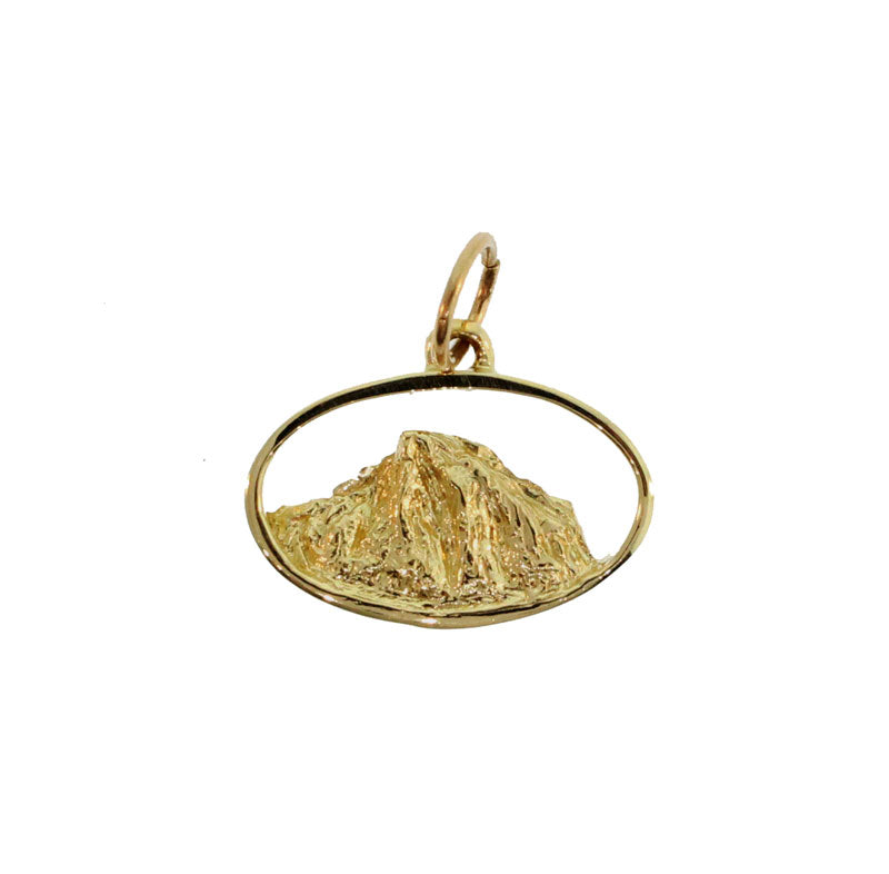 Small Mountain Range Charm