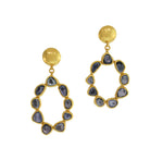 Light Blue Sapphire Earrings