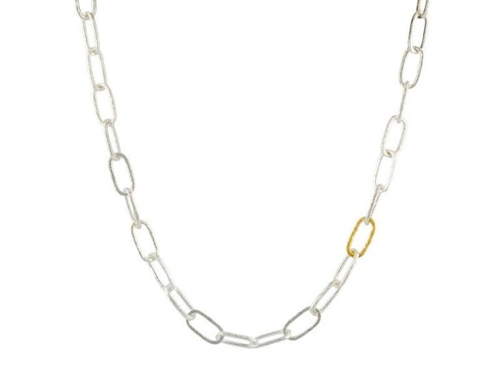 Short Oval Link Necklace
