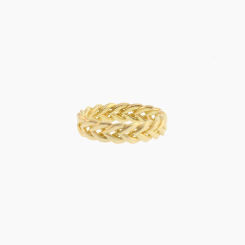 Gold Braided Band