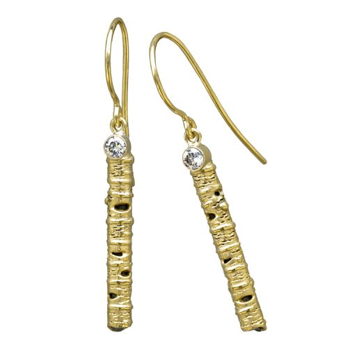 Gold Aspen Stick Earrings
