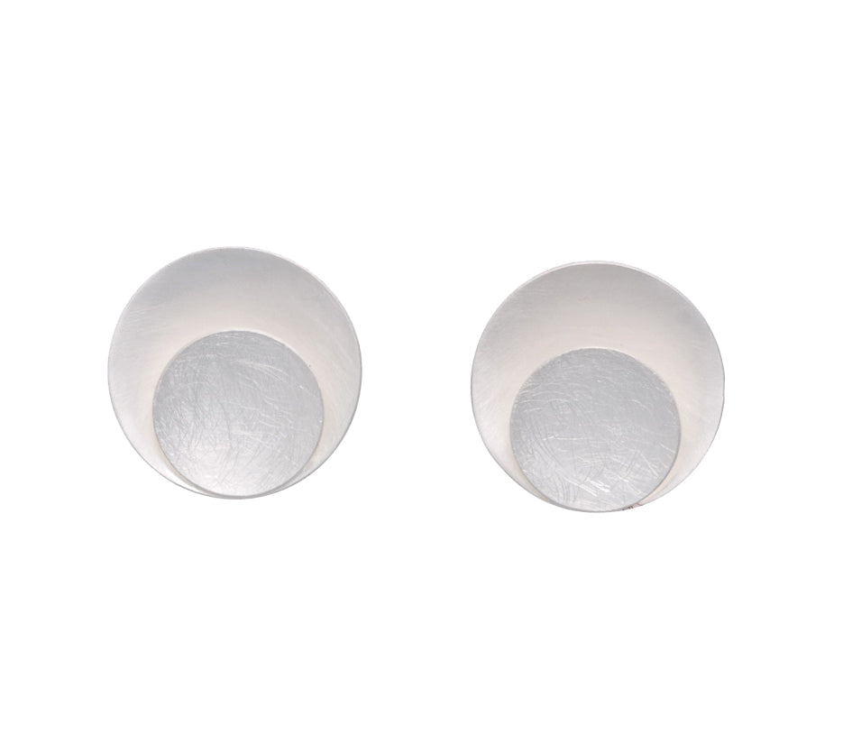 DOUBLE CIRCLE CLIP-ON EARRINGS