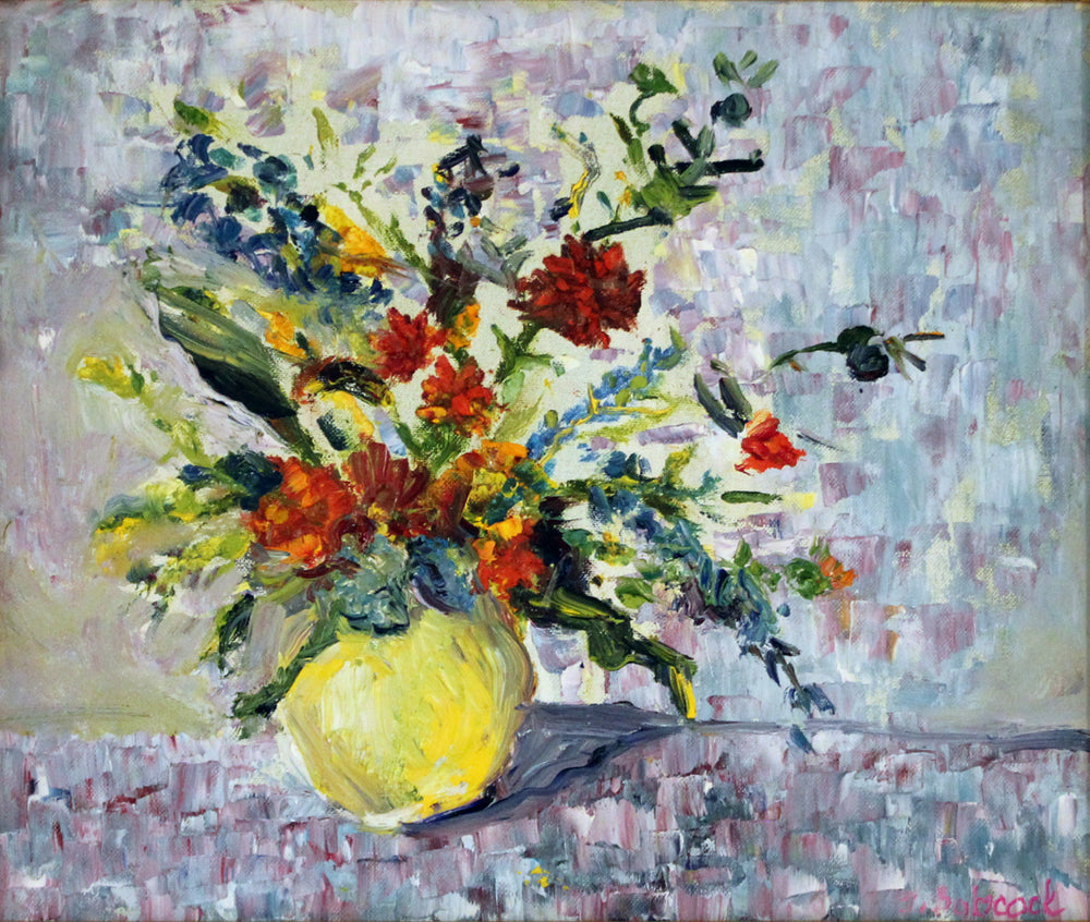 Yellow Vase Still Life