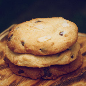 galletas de chispas de chocolate