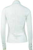 Really beautiful formfitted white shirt - MASO shop
