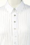 Really beautiful formfitted white shirt