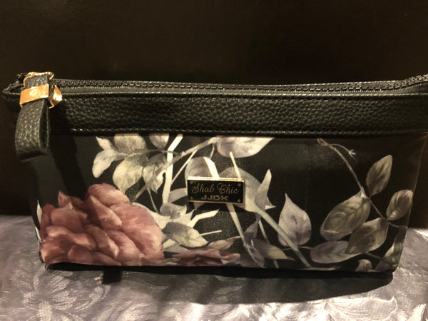 Small beautiful toiletry bag (black) - MASO shop