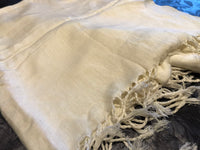White scarf - MASO shop