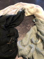 Black-White-Grey scarf - MASO shop