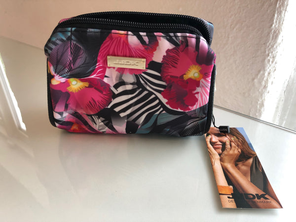 Small beautiful toiletry bag (Flower Colors) - MASO shop
