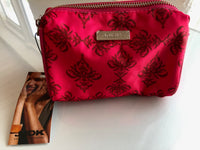 Small beautiful toiletry bag (Summer Red) - MASO shop